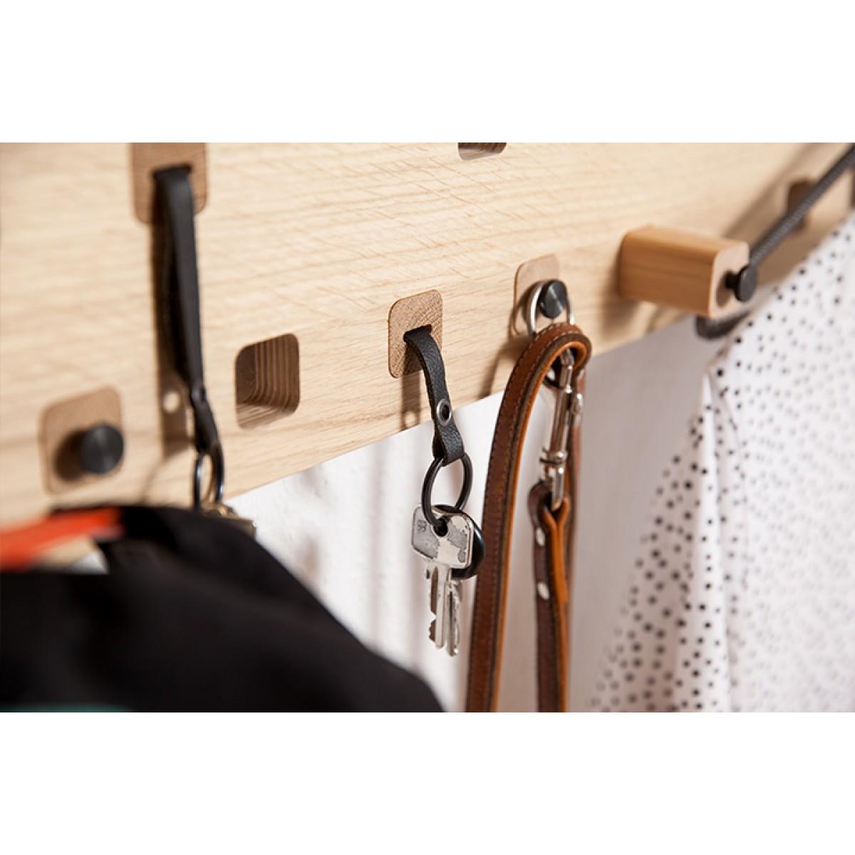 Kraft&Ulrich Harper - Die Garderobe für alles - Metallboden weiß