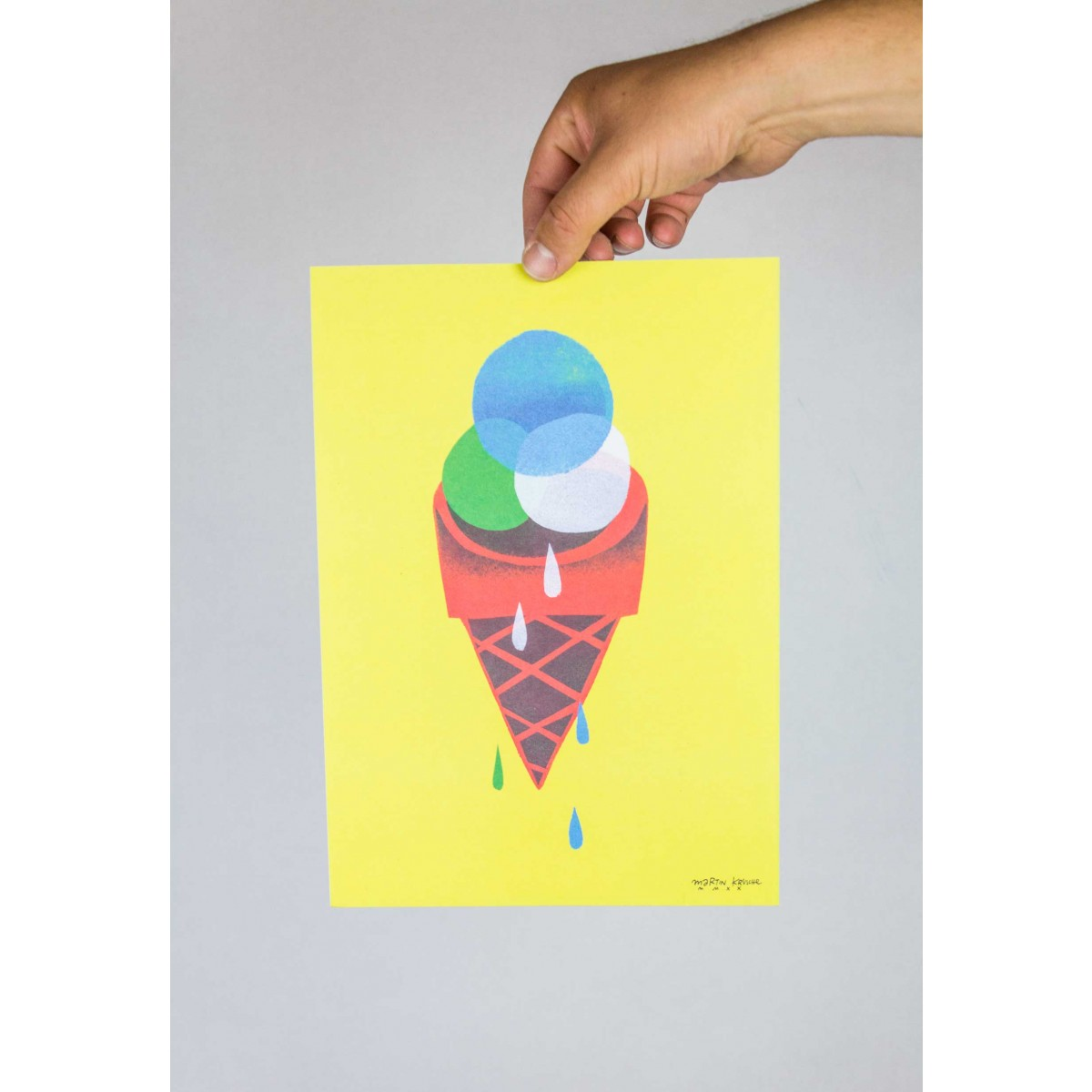 Martin Krusche - Poster »Gelato« DINA4
