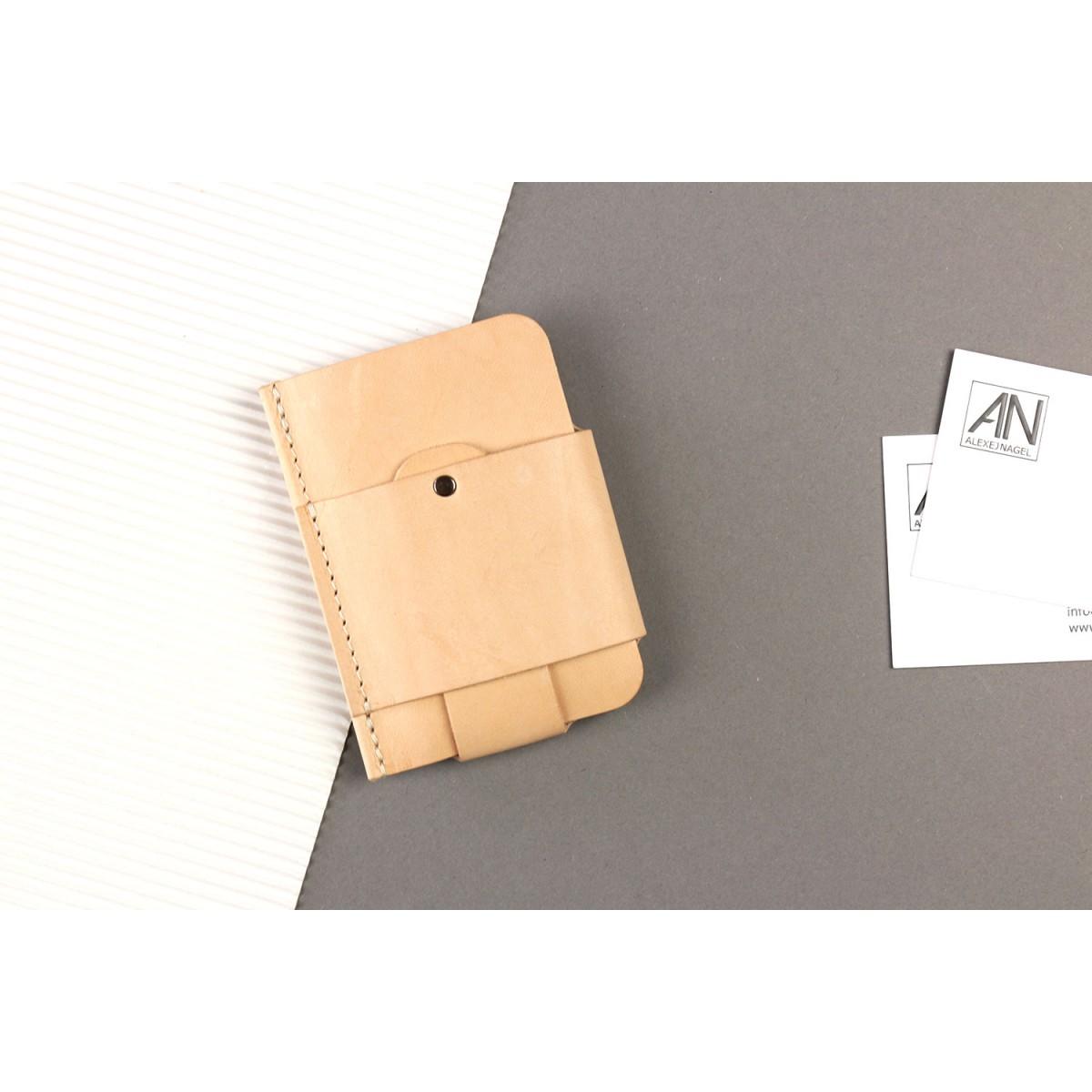 Alexej Nagel Gentleman Slim Wallet aus Leder - Natur [N]