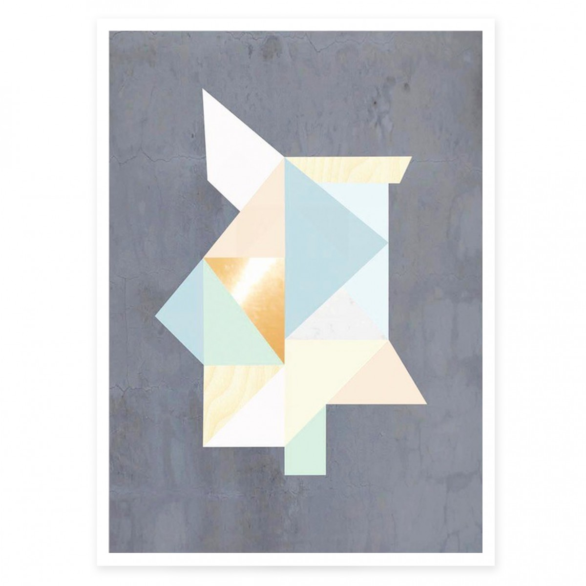 KAMI. poster – geometric forms