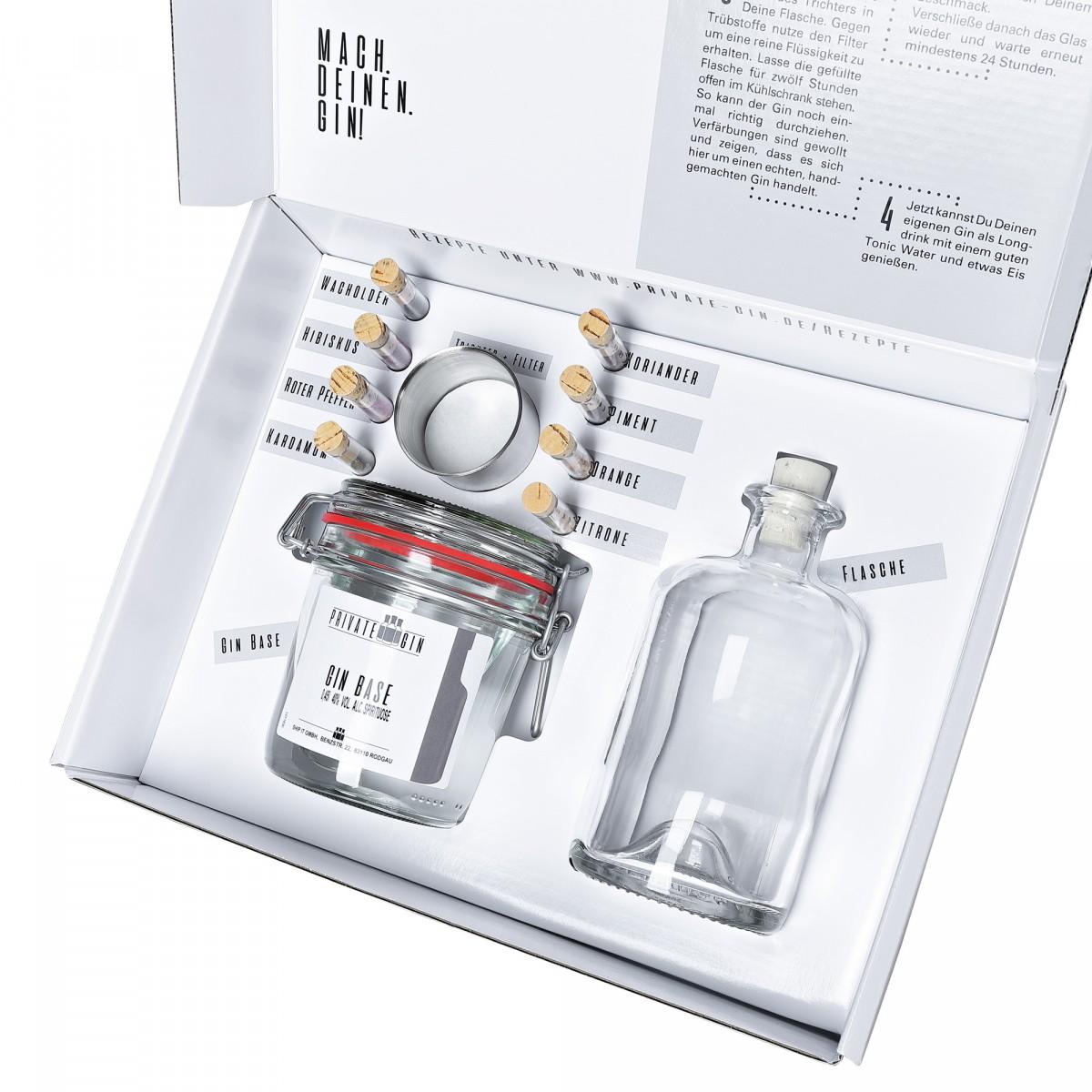 Private-Gin Gin Baukasten - DIY Gin Set