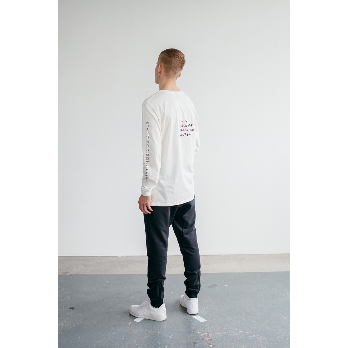Goodbois Dollars Longsleeve off-White
