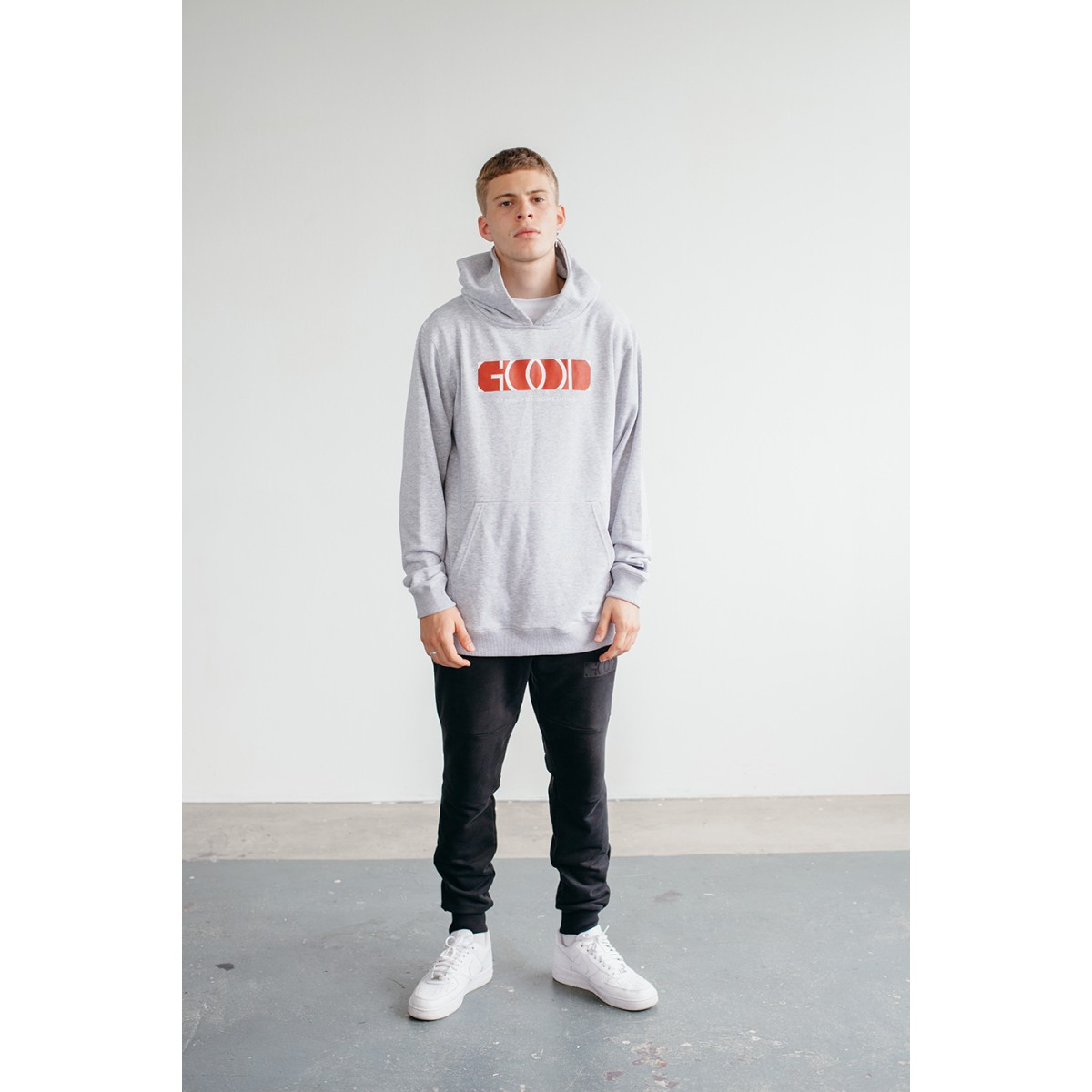 Goodbois OG Logo Hoody grey