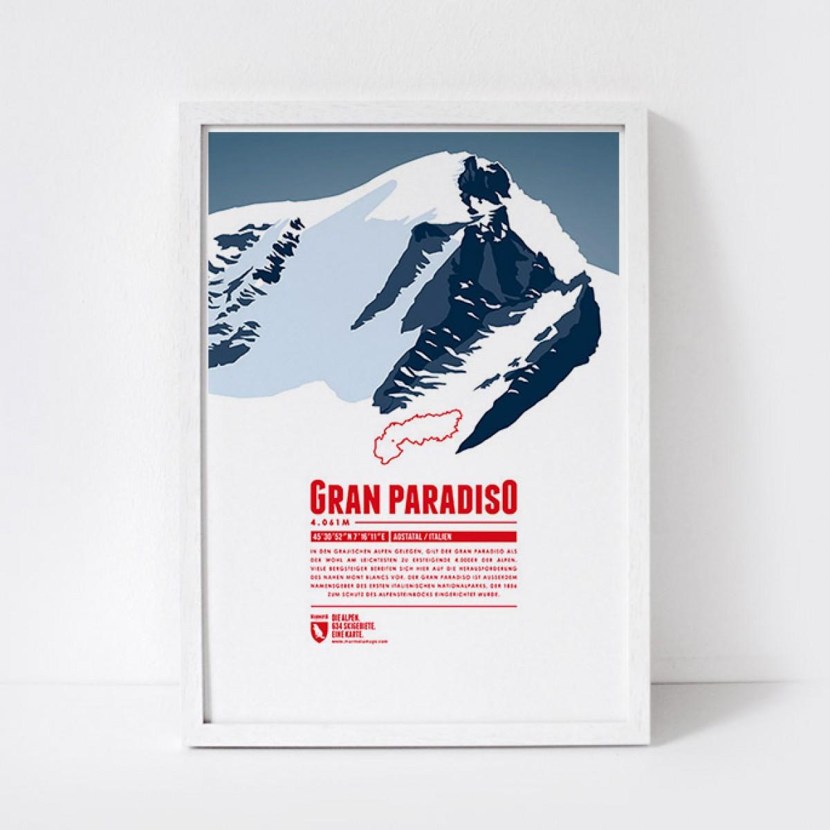 Marmota Maps – Gran Paradiso - Bergdruck