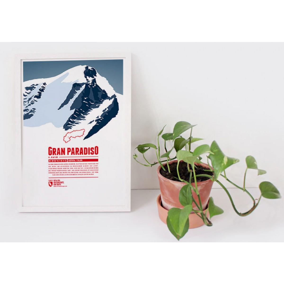 Gran Paradiso - Bergdruck