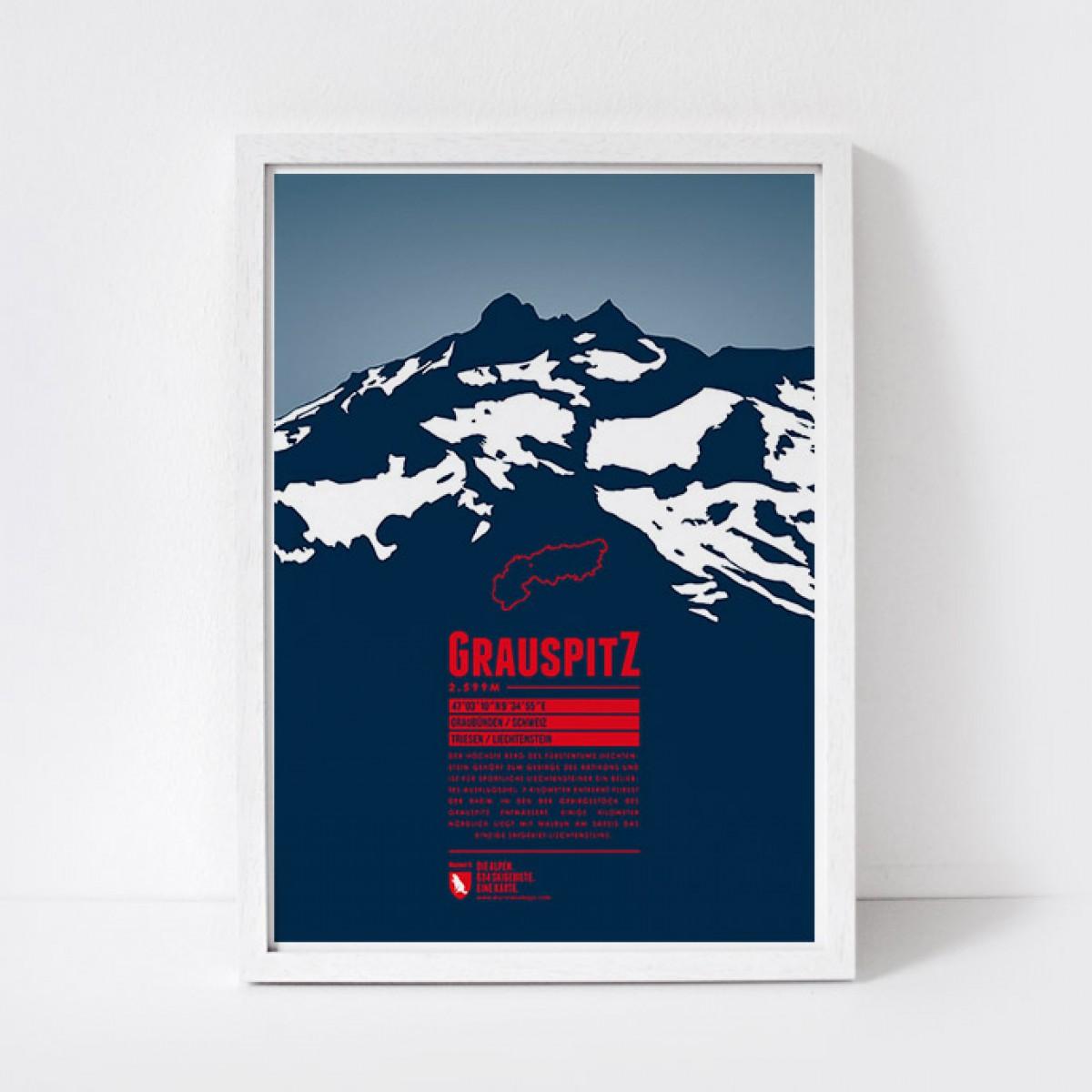 Marmota Maps – Grauspitz  - Bergdruck