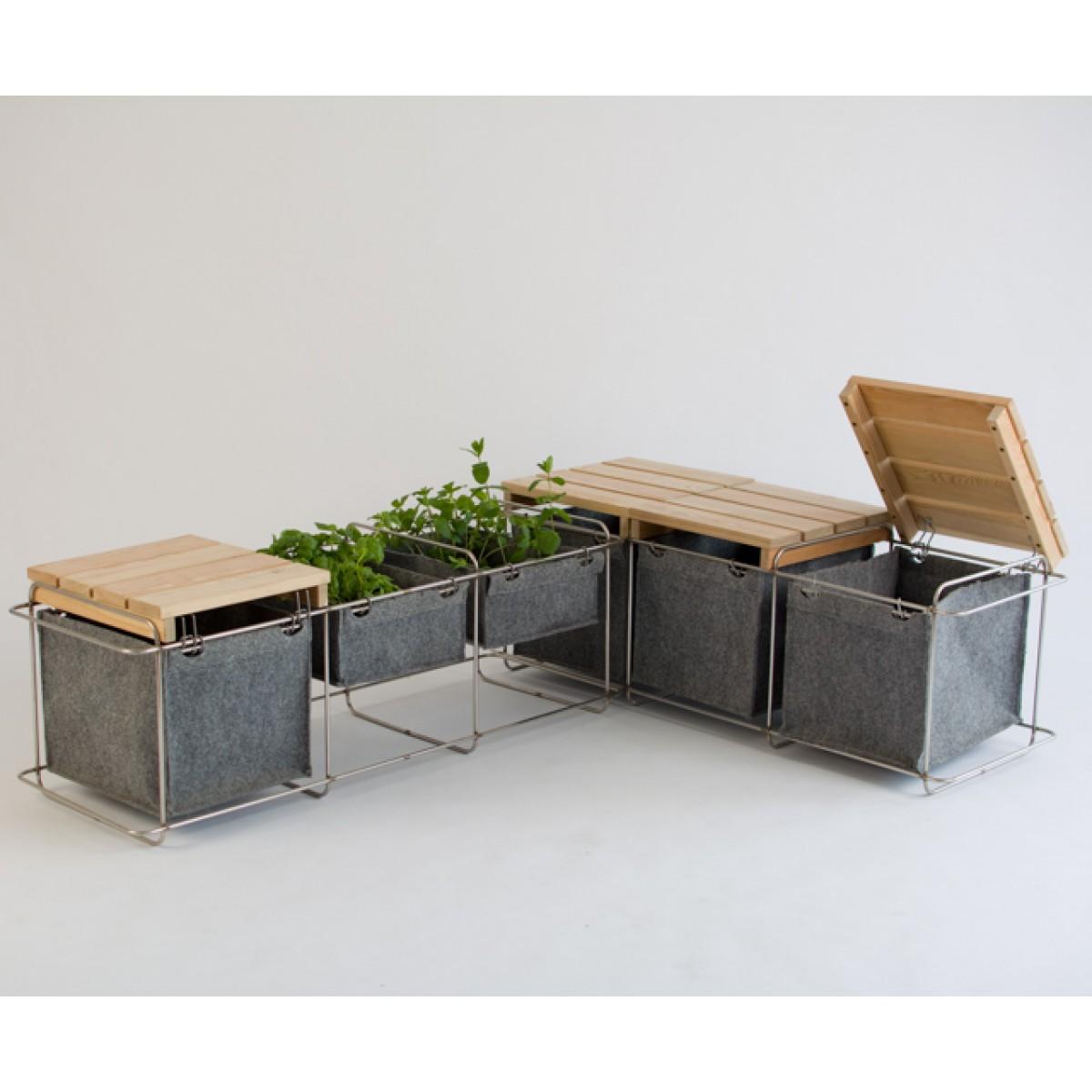 bartmann berlin bank grit gartenm bel. Black Bedroom Furniture Sets. Home Design Ideas