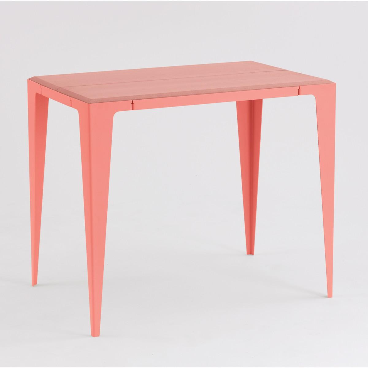 GUERIDON TISCH CHAMFER kalypso-rot *EXKLUSIVE KOLLEKTION*   nachhaltiges Möbeldesign   WYE