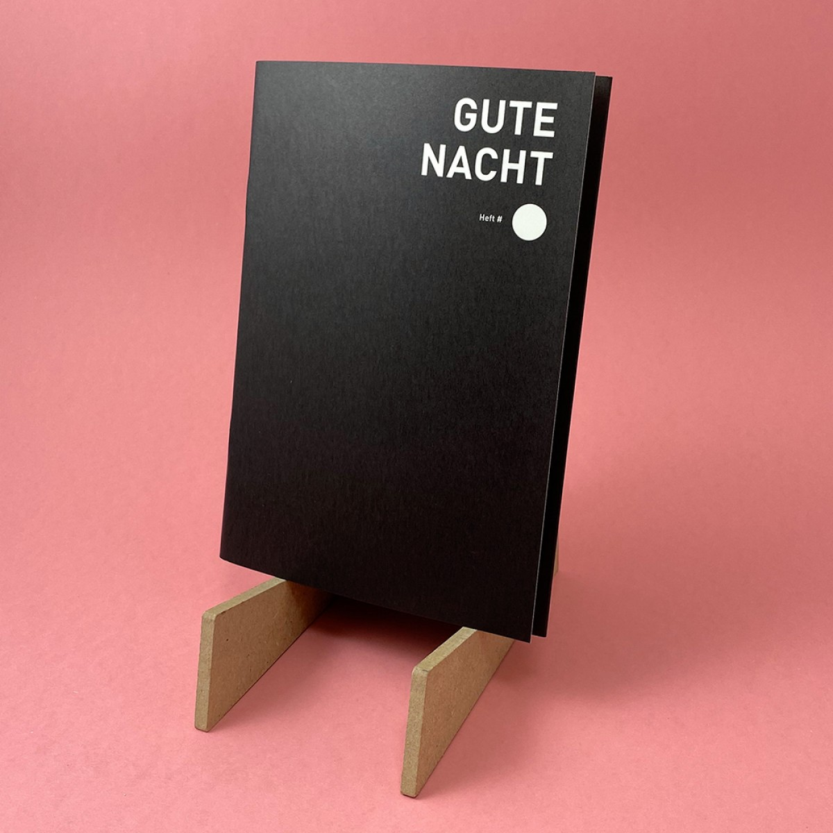 "Bob And Uncle Design Tagebuch ""Gute Nacht"", DIN A5"