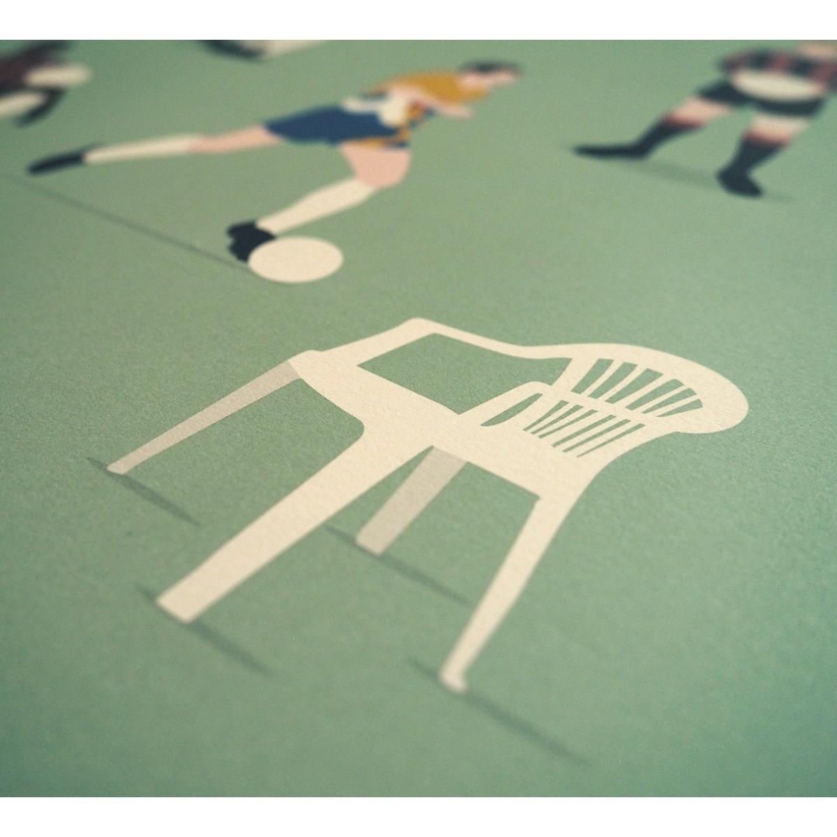 """""""Adler Legends"""" Fußball-Poster von HANDS OF GOD FOOTBALL"""