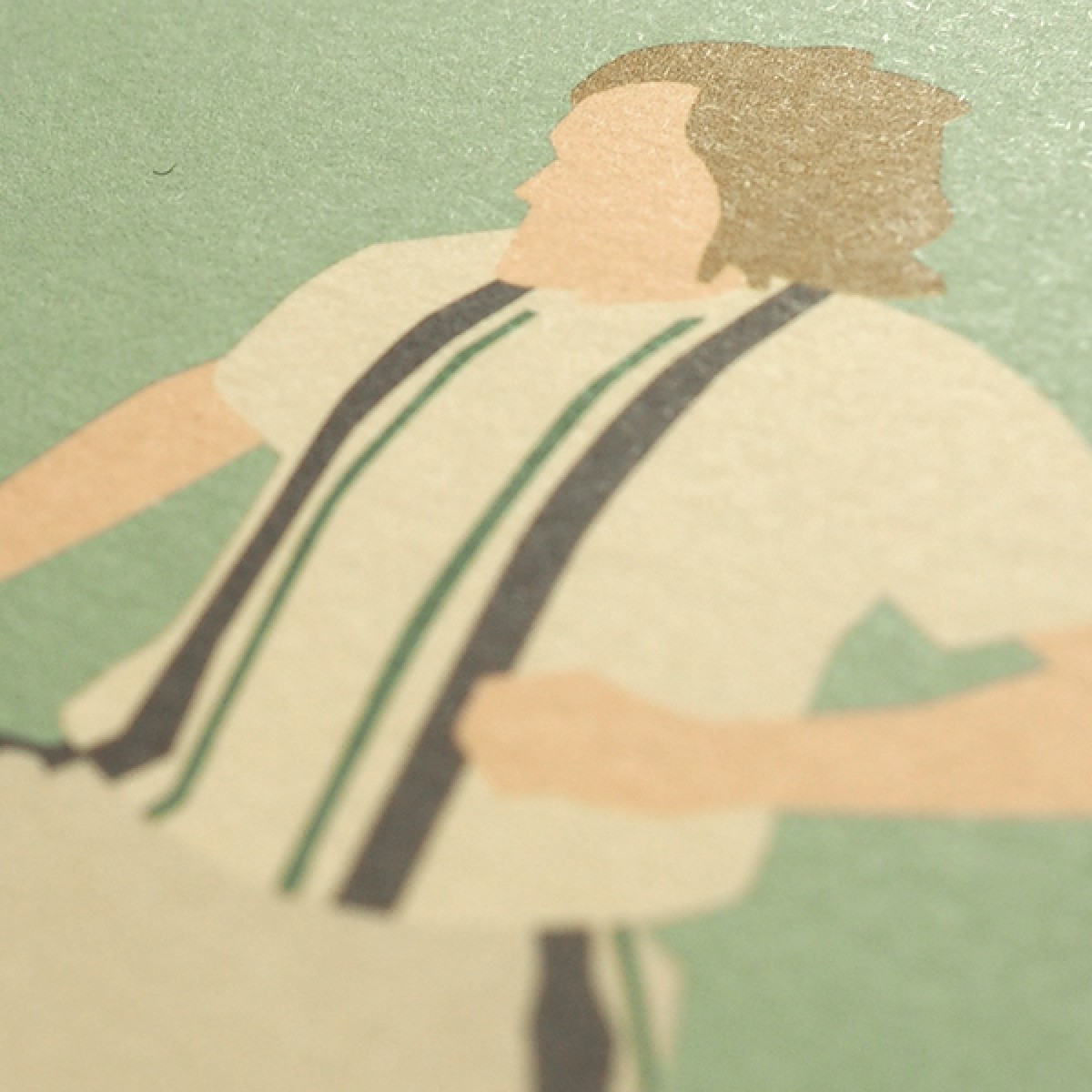 """Fohlen Legends"" Fußballposter von HANDS OF GOD"