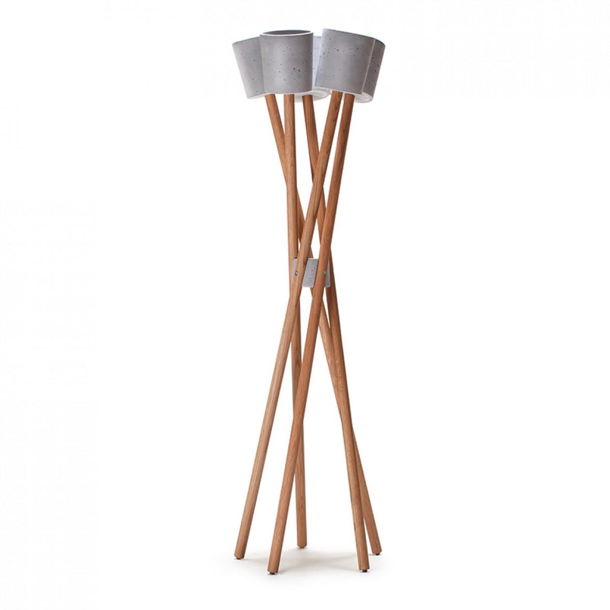urbanature pflanzenst nder hochgarten eiche beton. Black Bedroom Furniture Sets. Home Design Ideas