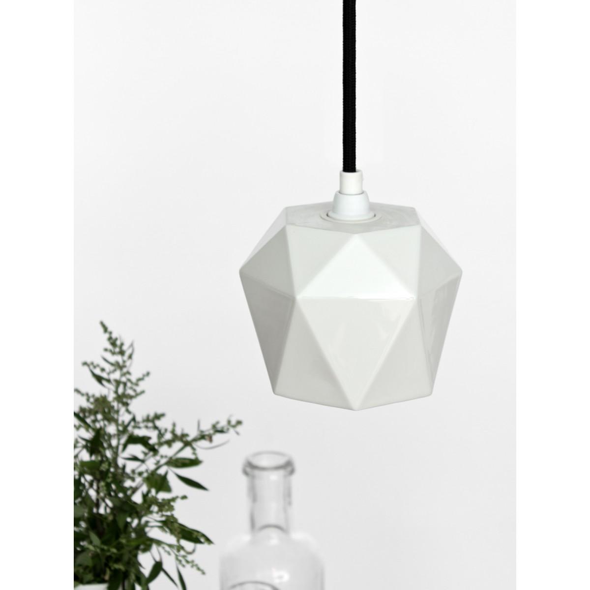 GANT lights Porzellan Hängelampe trianguliert [T3]