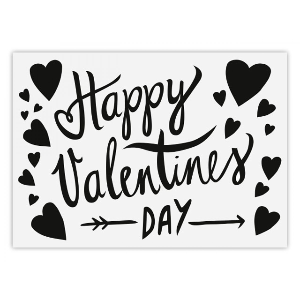 Perunoto Postkarte Happy Valentine's Day