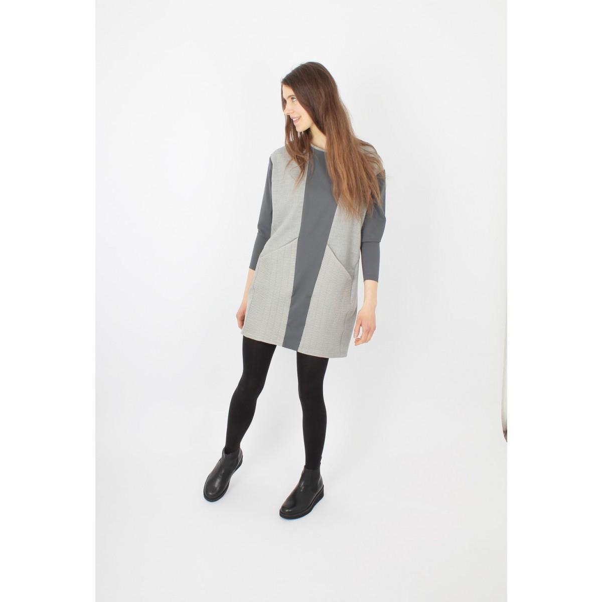ZITAT Hayuk Dress Asphalt Mix