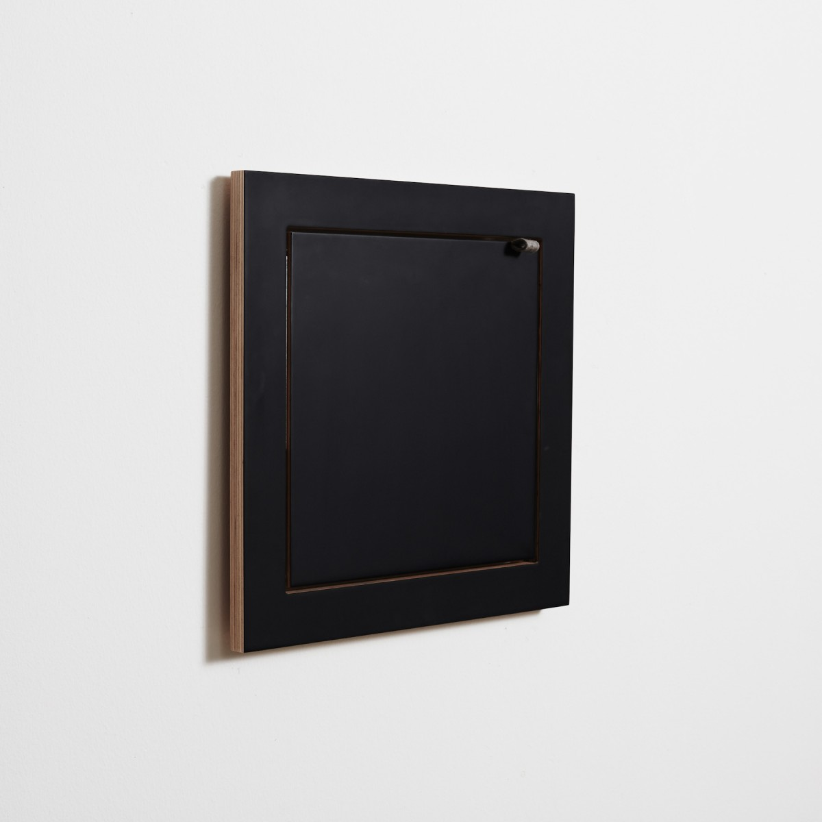 AMBIVALENZ Fläpps Regal 40x40x1 (in schwarz oder weiß)