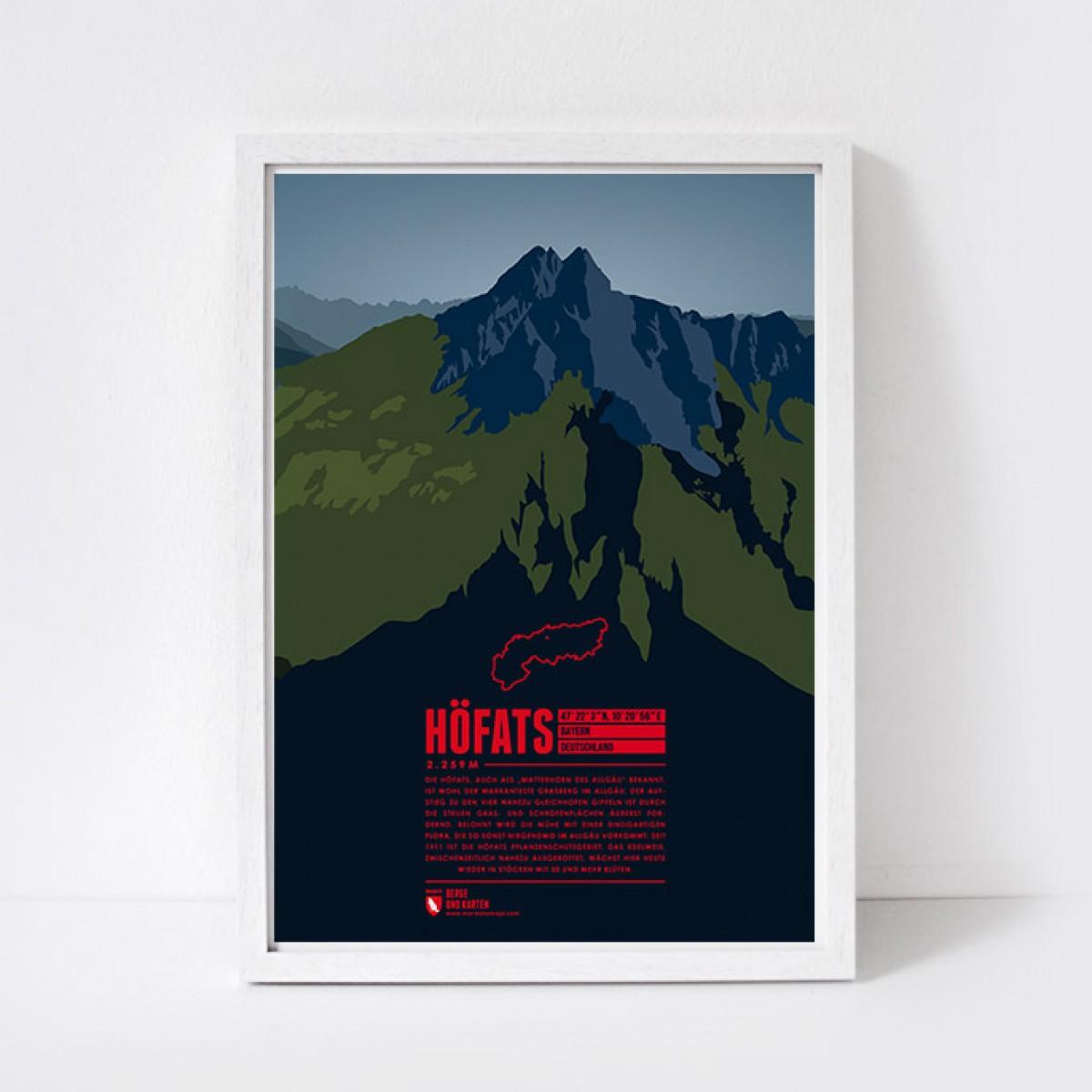 Marmota Maps – Höfats - Bergdruck