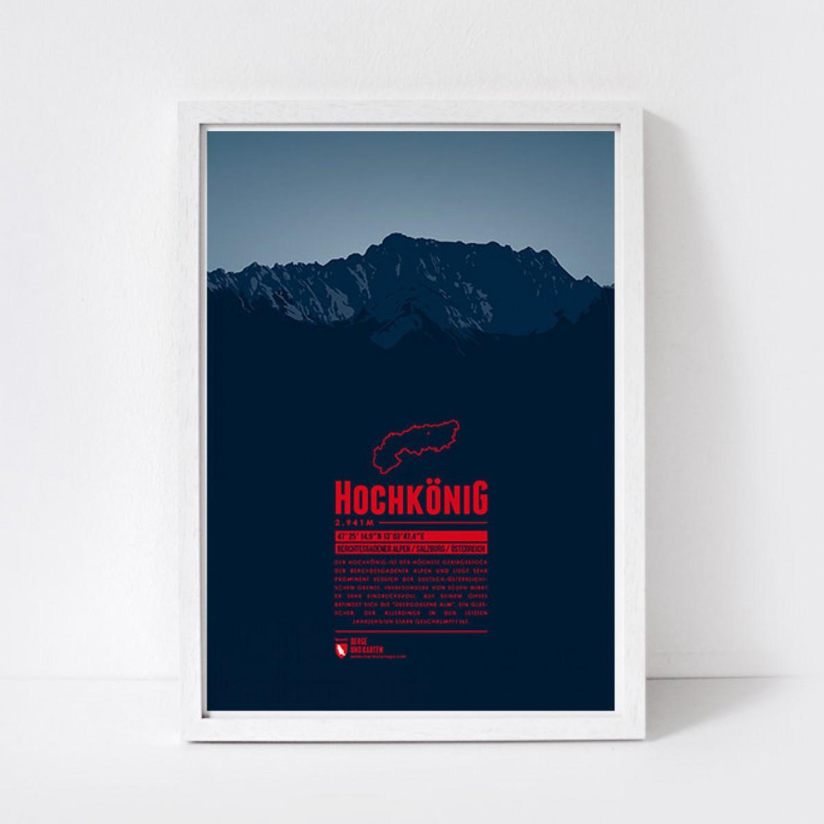 Marmota Maps – Hochkönig - Bergdruck