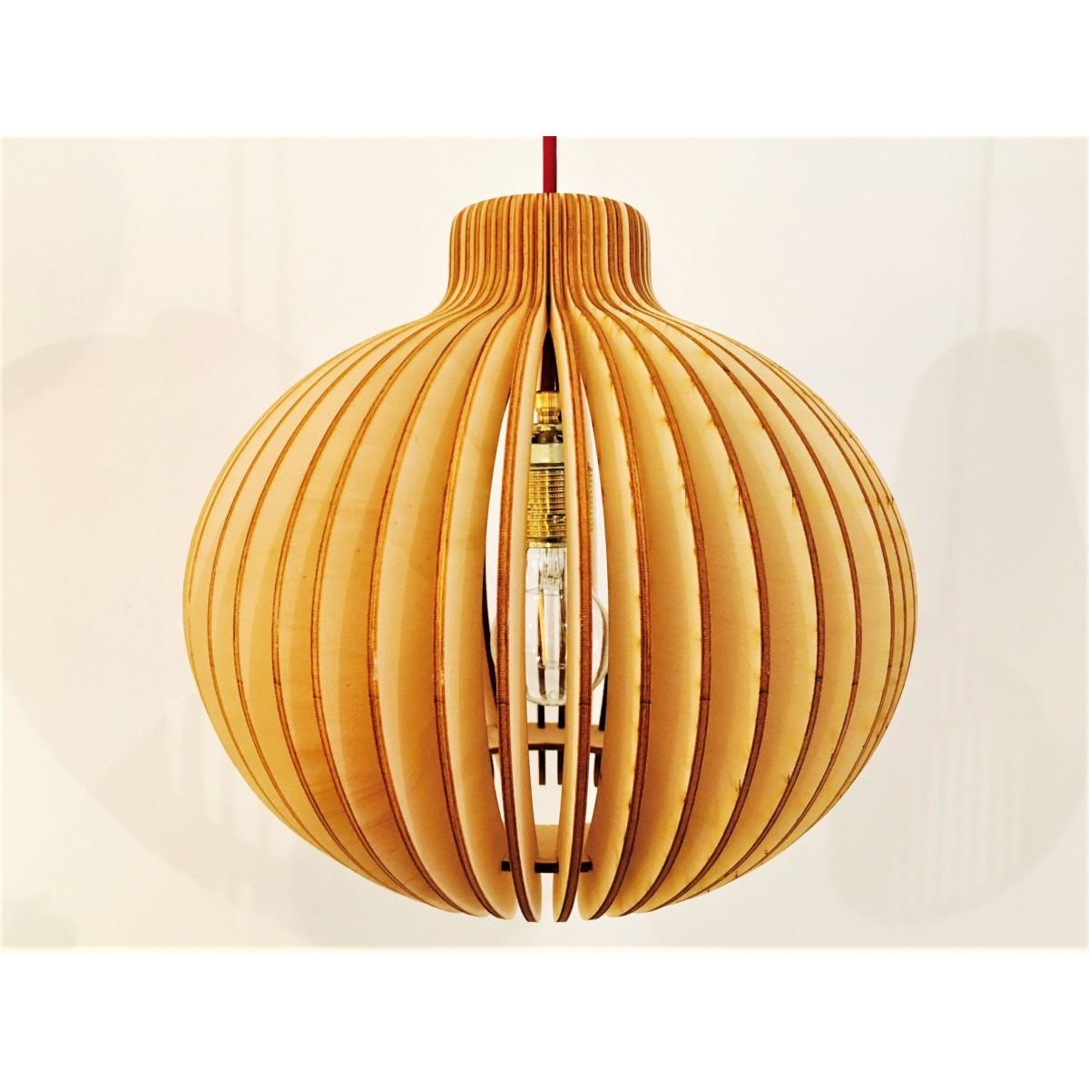 Holzlampe Kalle