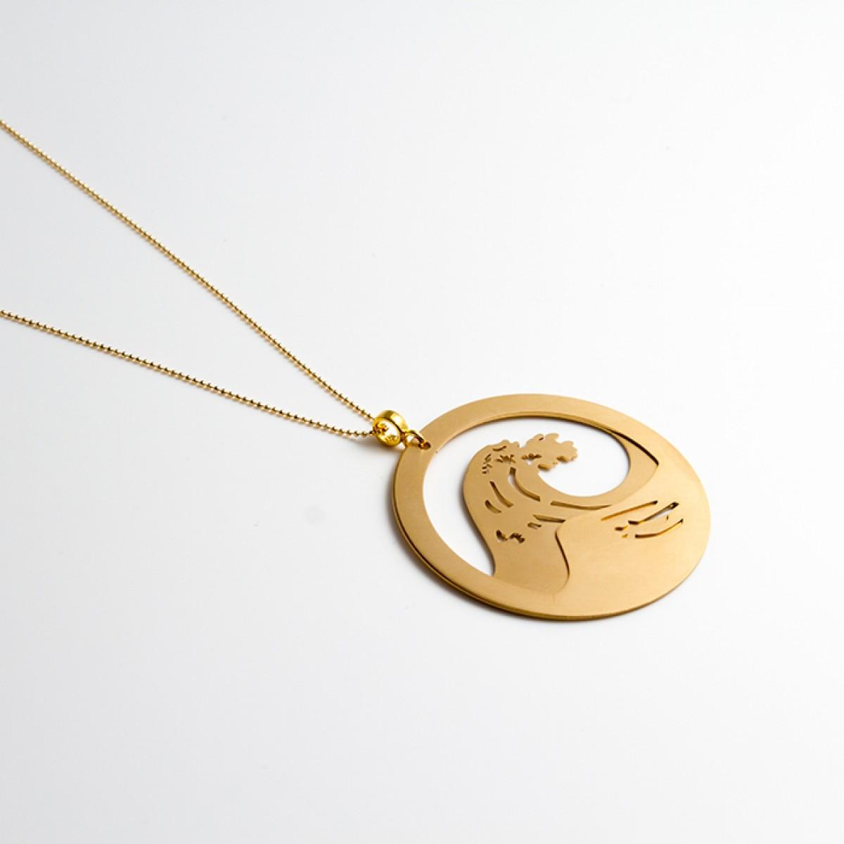 haloa jewellery WAVE I Halskette