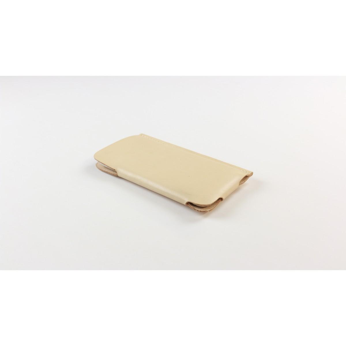 iPhone 6/6S Slim Fit Hülle aus Leder in Farbe natur [natur]