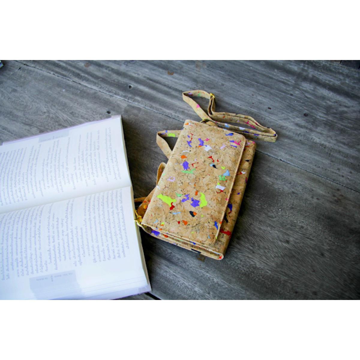 Handtasche, Clutch aus Kork, handgefertigt BY COPALA