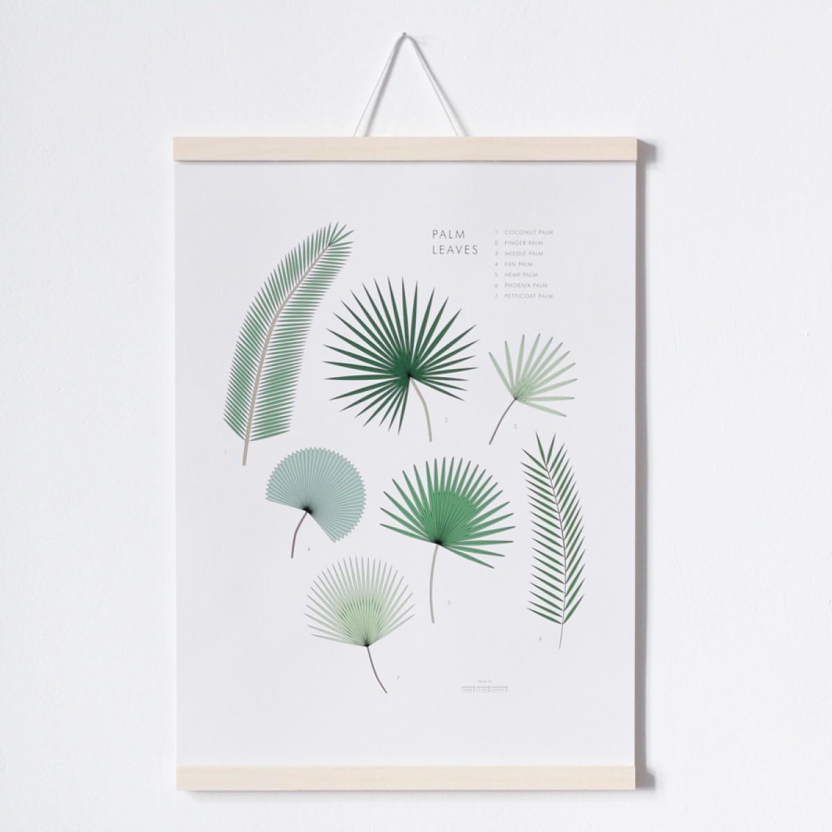 FINE FINE STUFF - Poster Palm Leaves - A3