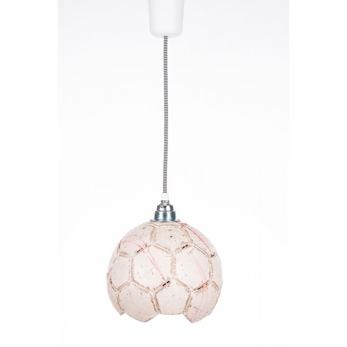 karolchicks Fussball Lampe Upcycling