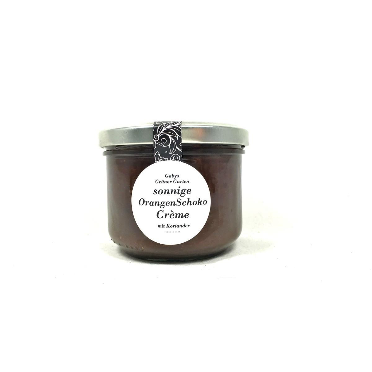 Gabys Grüner Garten sonnige Orangen-Schoko Crème 250g