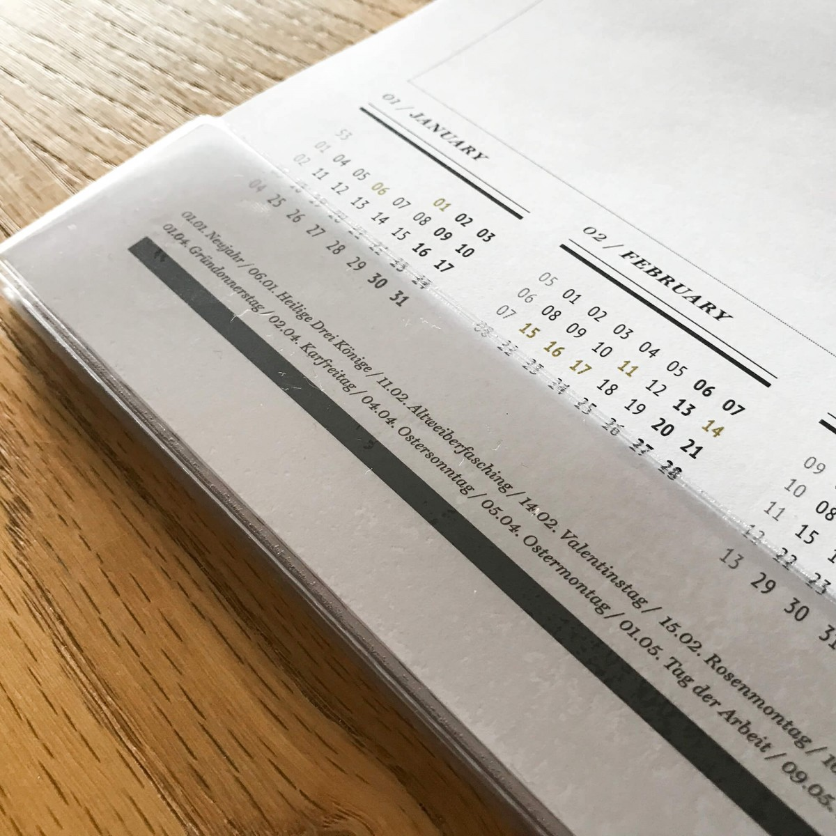 ACD DESIGN.BÜRO / Schreibtischmatte 2021