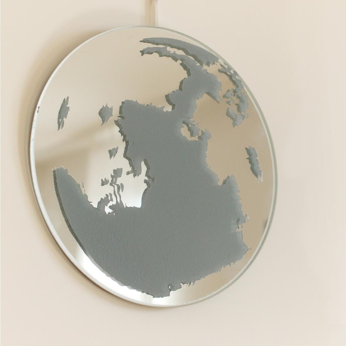 Mond-Spiegel - grau