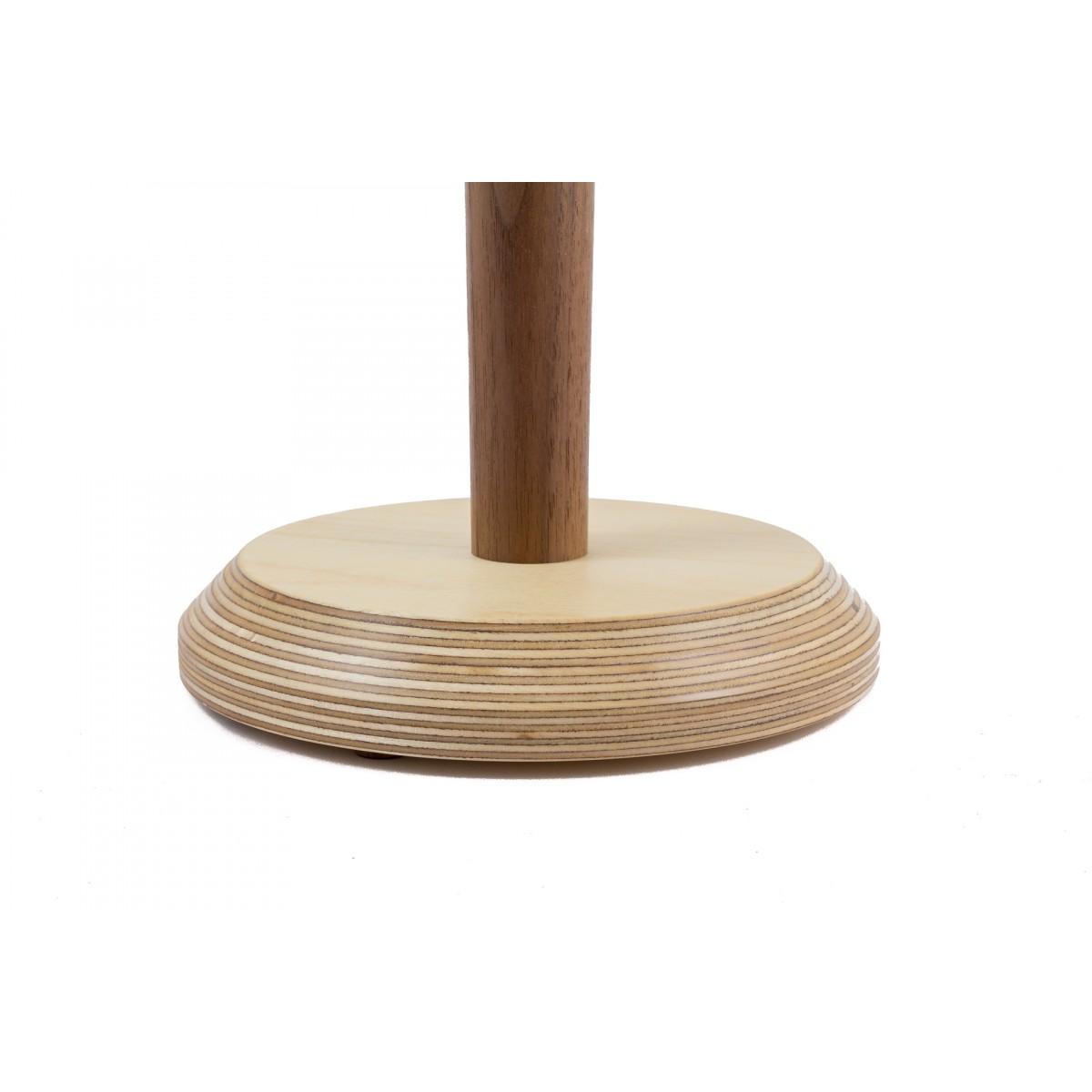 Küchenrollenhalter Nussbaum von Holzmanufaktur Matthias Reichel