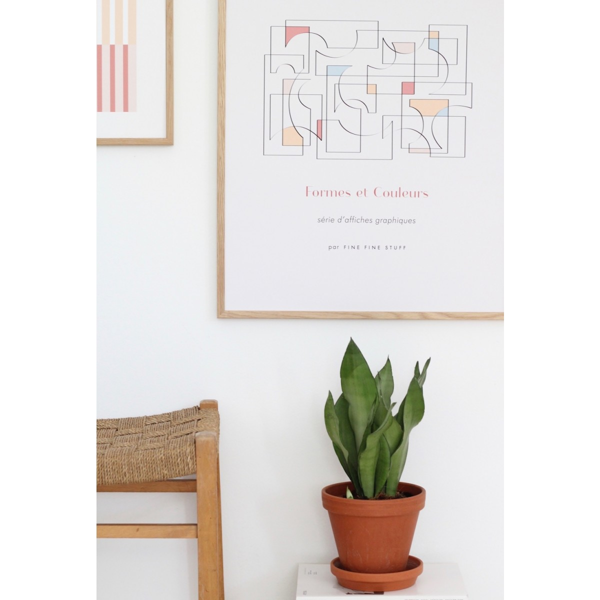 FINE FINE STUFF - Poster - Les Jeux de l'Art - terra - 50x70