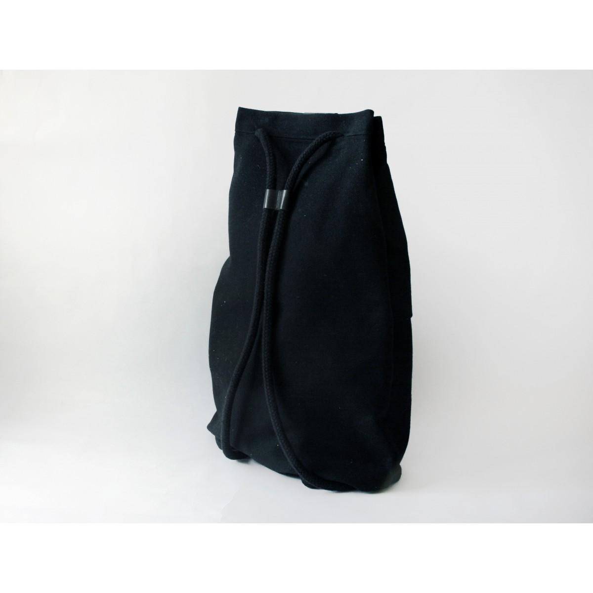 Drawstring Rucksack FANT/black