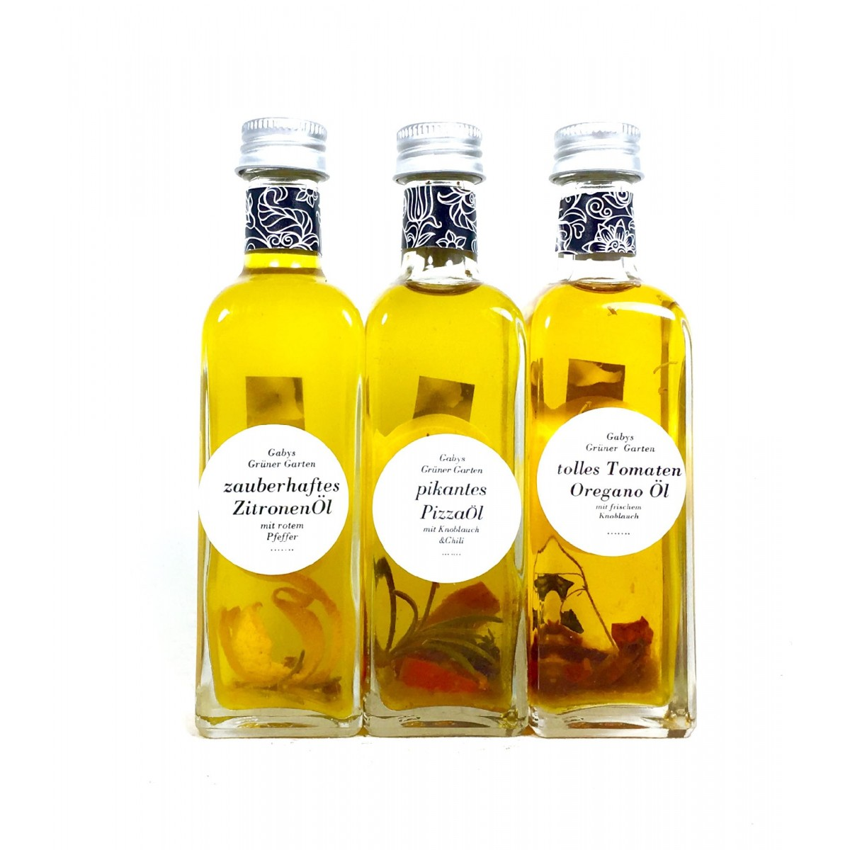 Gabys Grüner Garten  sensationelles Olivenöl Set 300ml
