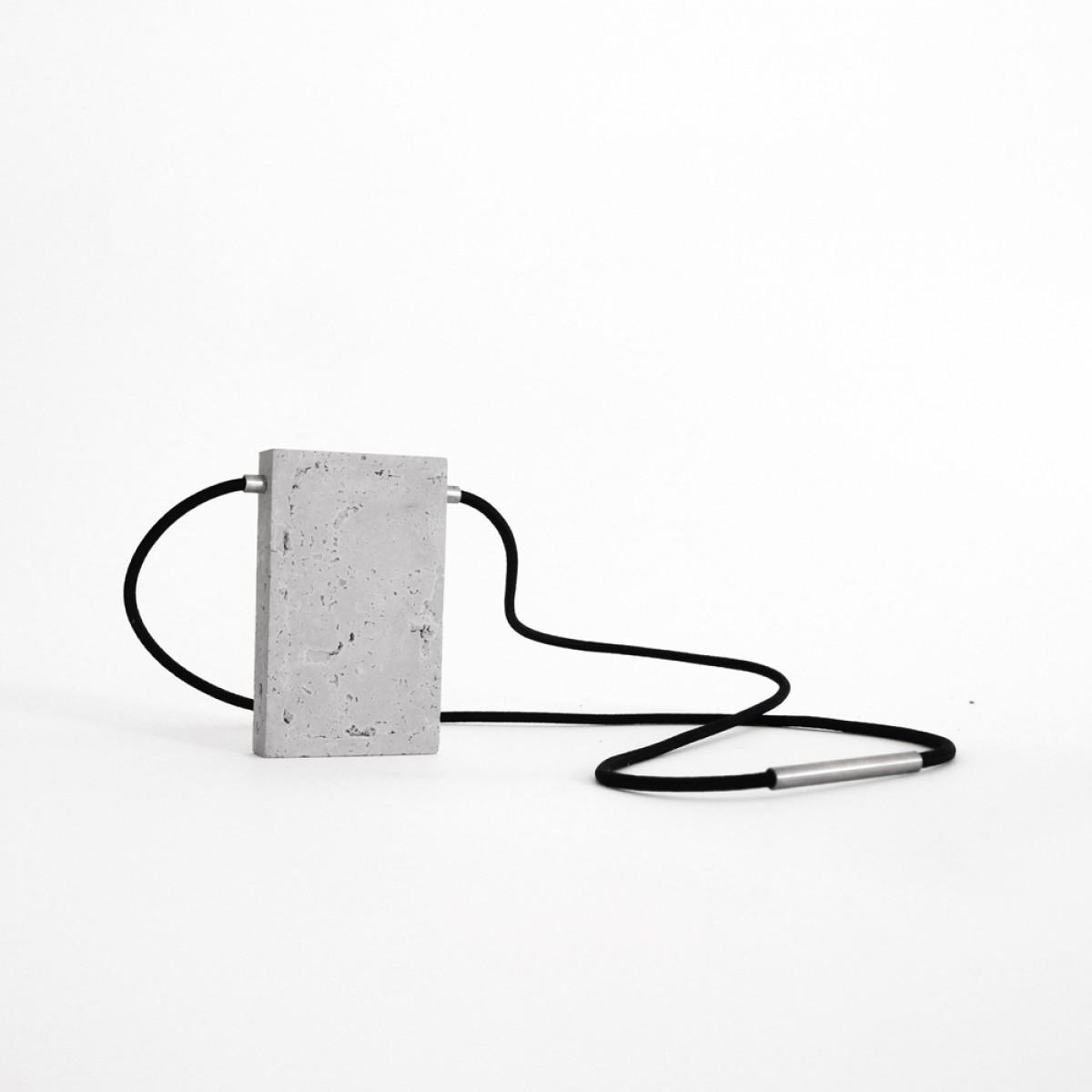 Concrete Necklace GRT01 by ORTOGONALE