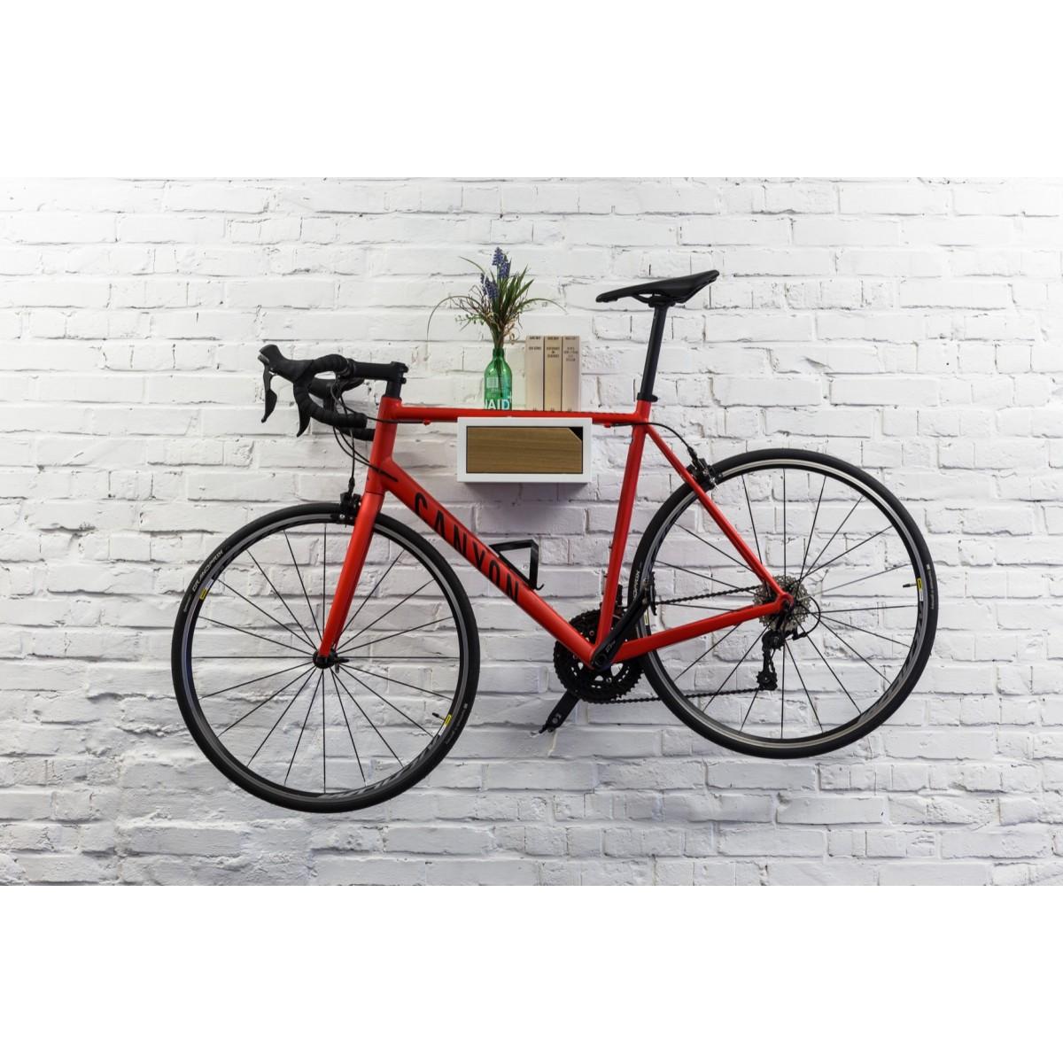 FRITZ | Fahrrad Wandhalterung aus Holz | Fahrradwandhalter