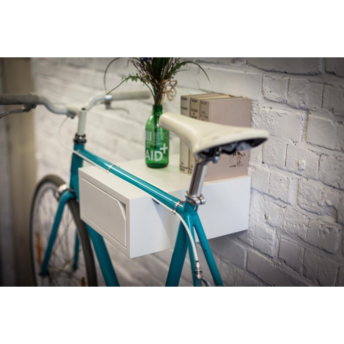 CLEMENS | Fahrrad Wandhalterung aus Holz | Fahrradwandhalter | Bicycledudes