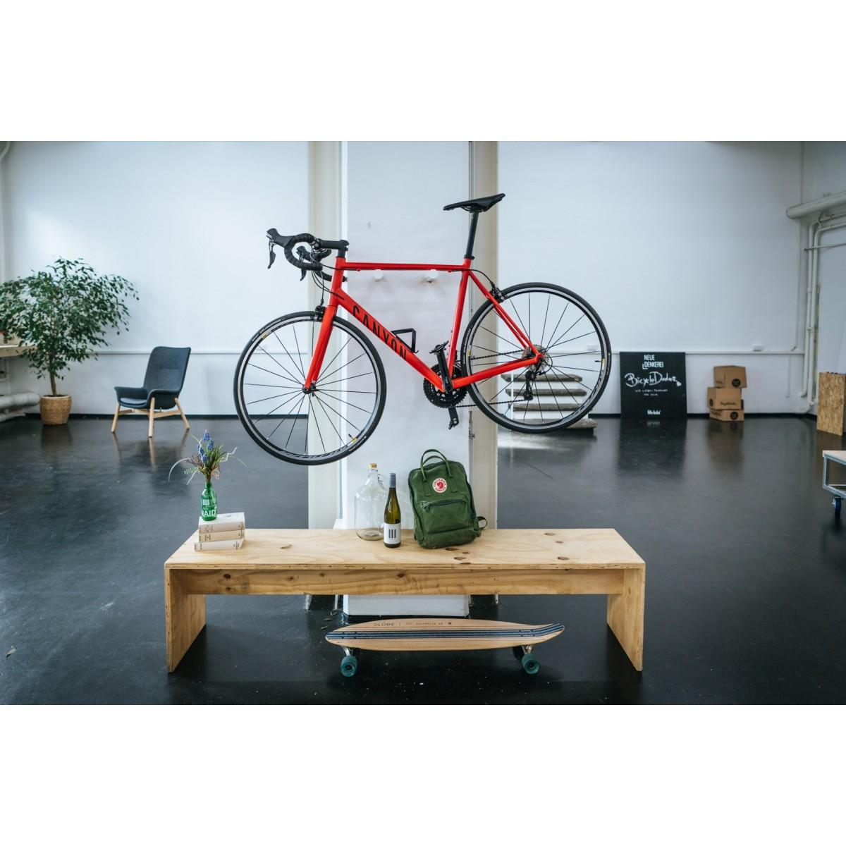 MAX | Fahrrad Wandhalterung aus Holz | Fahrradwandhalter