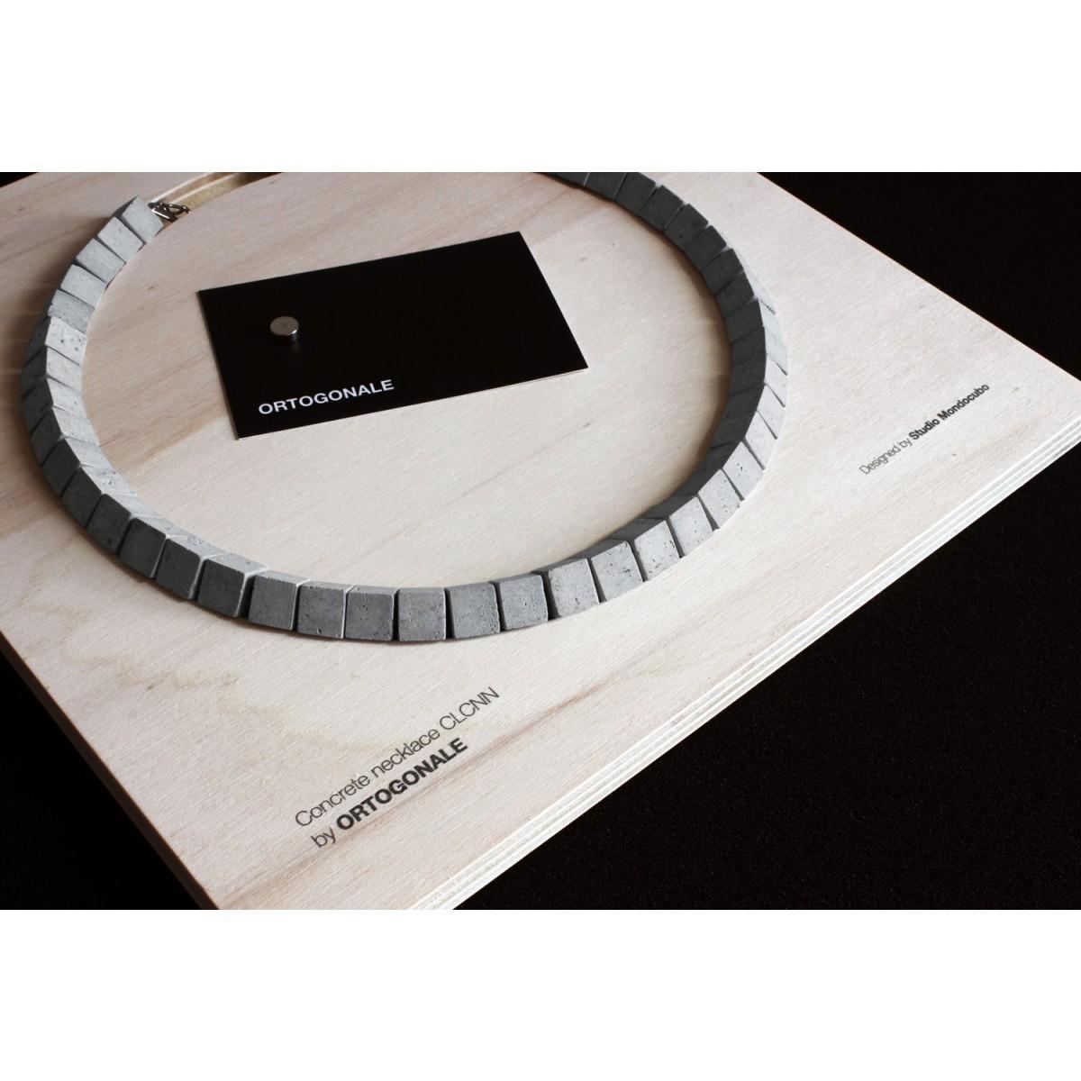 Beton Schmuck, Kette, Moderne Halskette, Minimalistischer Schmuck aus Beton by ORTOGONALE