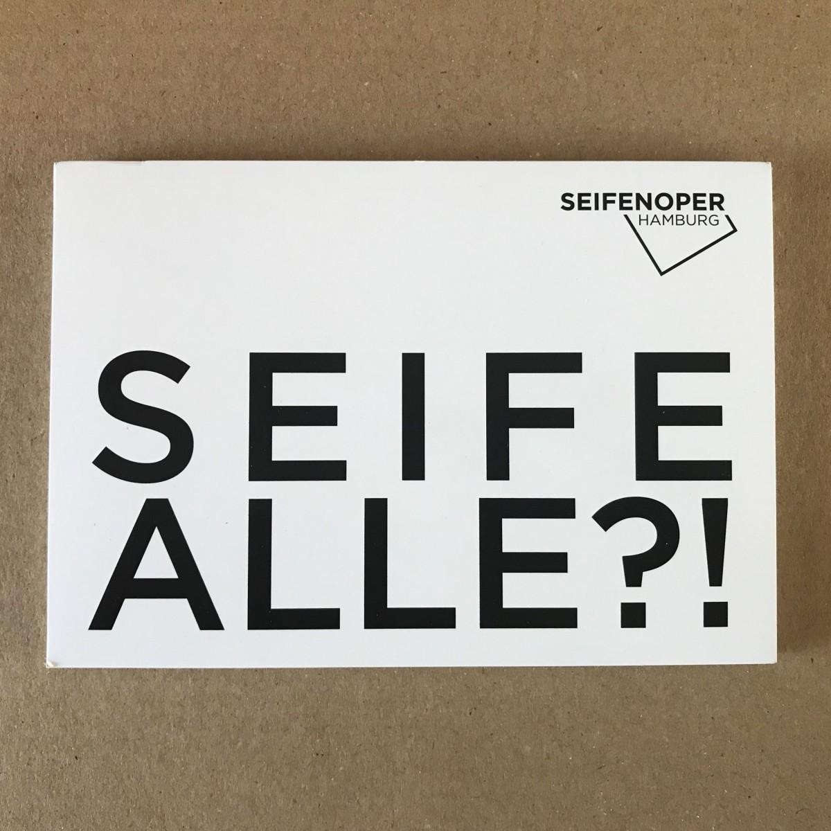 STUDIOBUEHLER Seifenoper Hamburg Kunstobjekt - Ersatzseifen