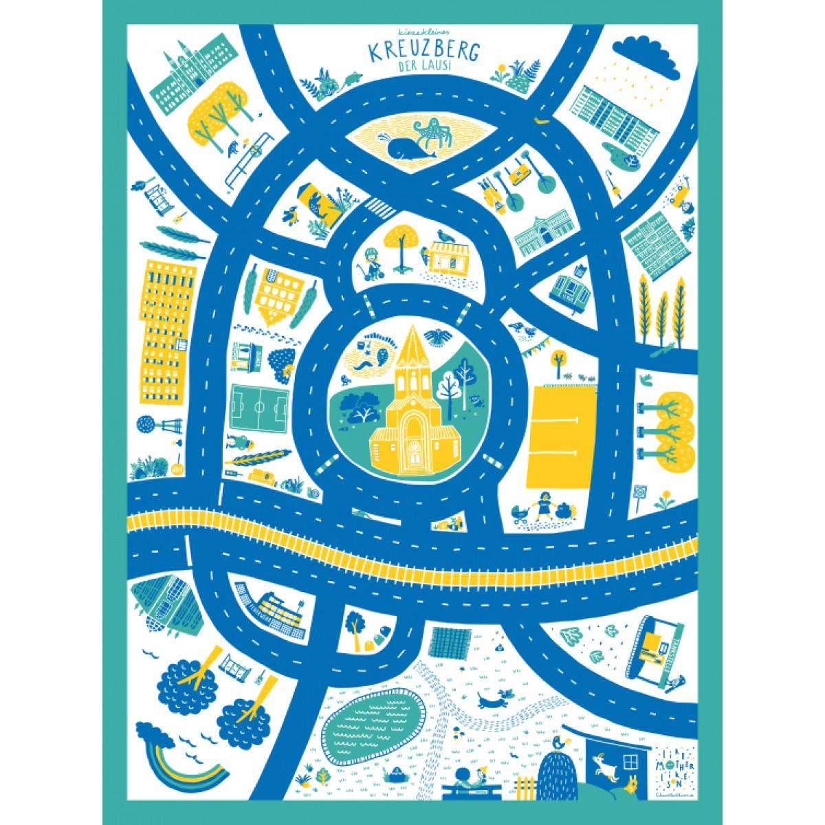 likemotherlikeson Poster Berlin-Kreuzberg