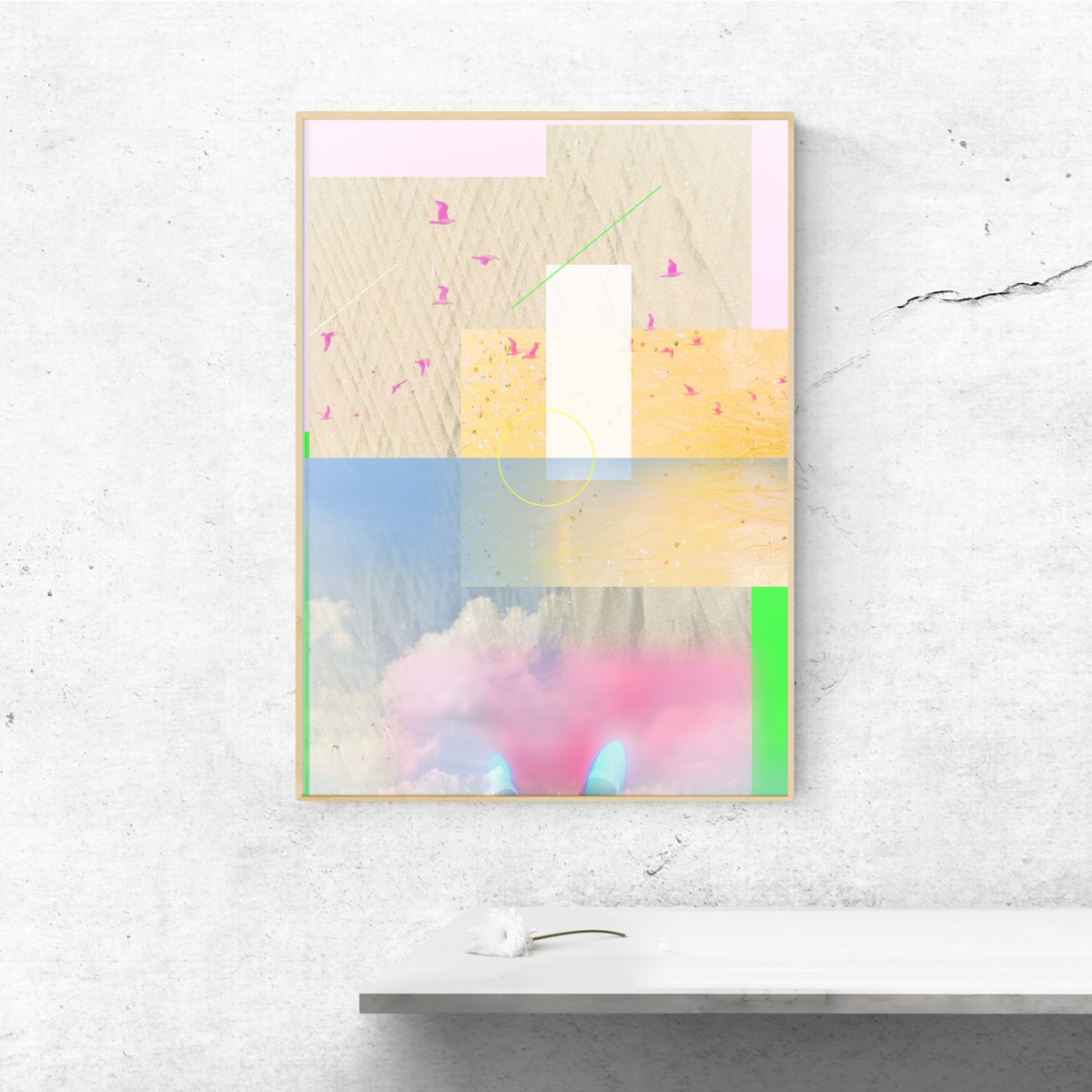 künstlerherz' KI 01 - Kunstdruck DIN A0