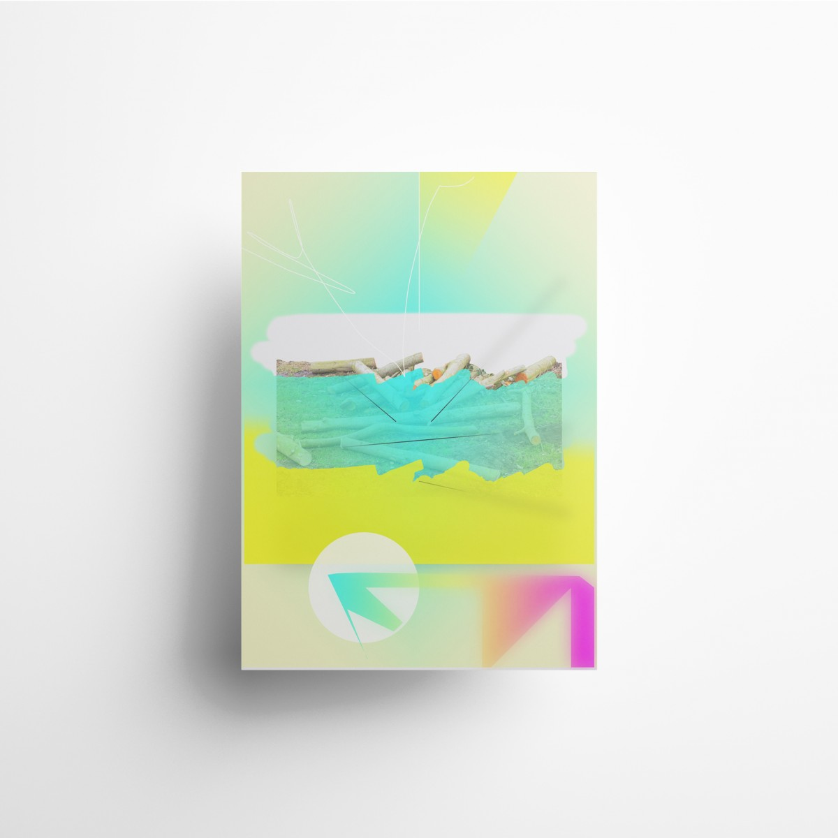 künstlerherz' KI 09 - Kunstdruck DIN A0