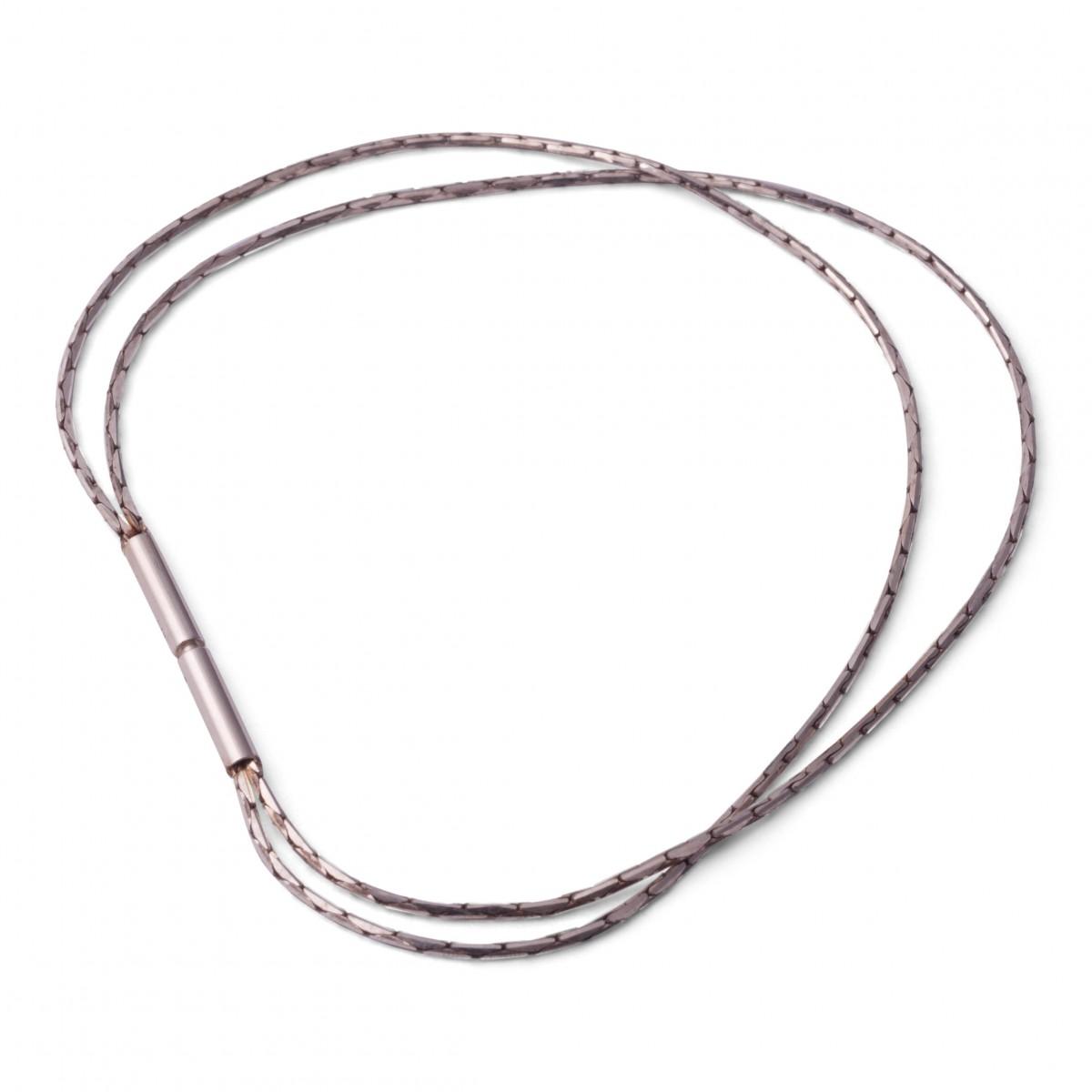 Comtesse de la Haye Doppel Kobra-Armband in  Silber oder Silber geschwärzt