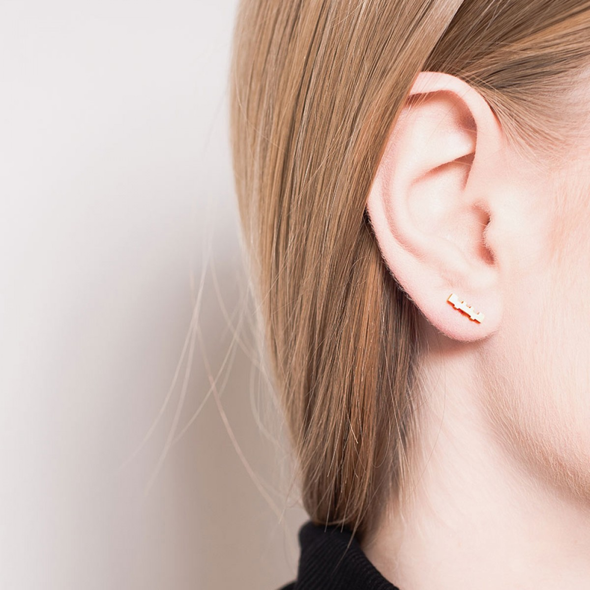 Jasmina Jovy Jewellery Decode! Ohrringe EADC01 gold