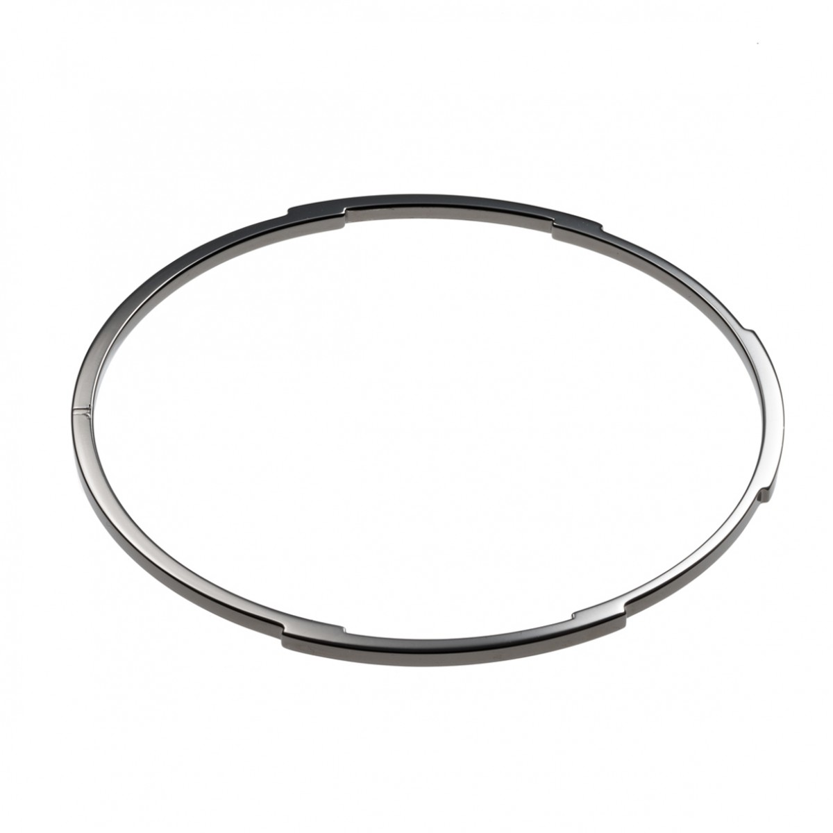 Jasmina Jovy Jewellery Decode! Bangle BRDC02 black rhodium