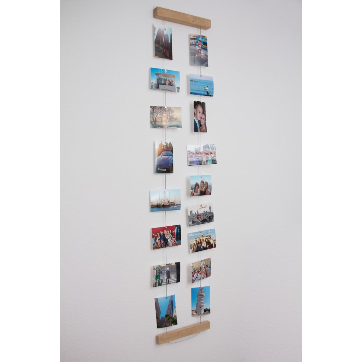 JL-Holz Fotowand klein (Eiche unbehandelt)