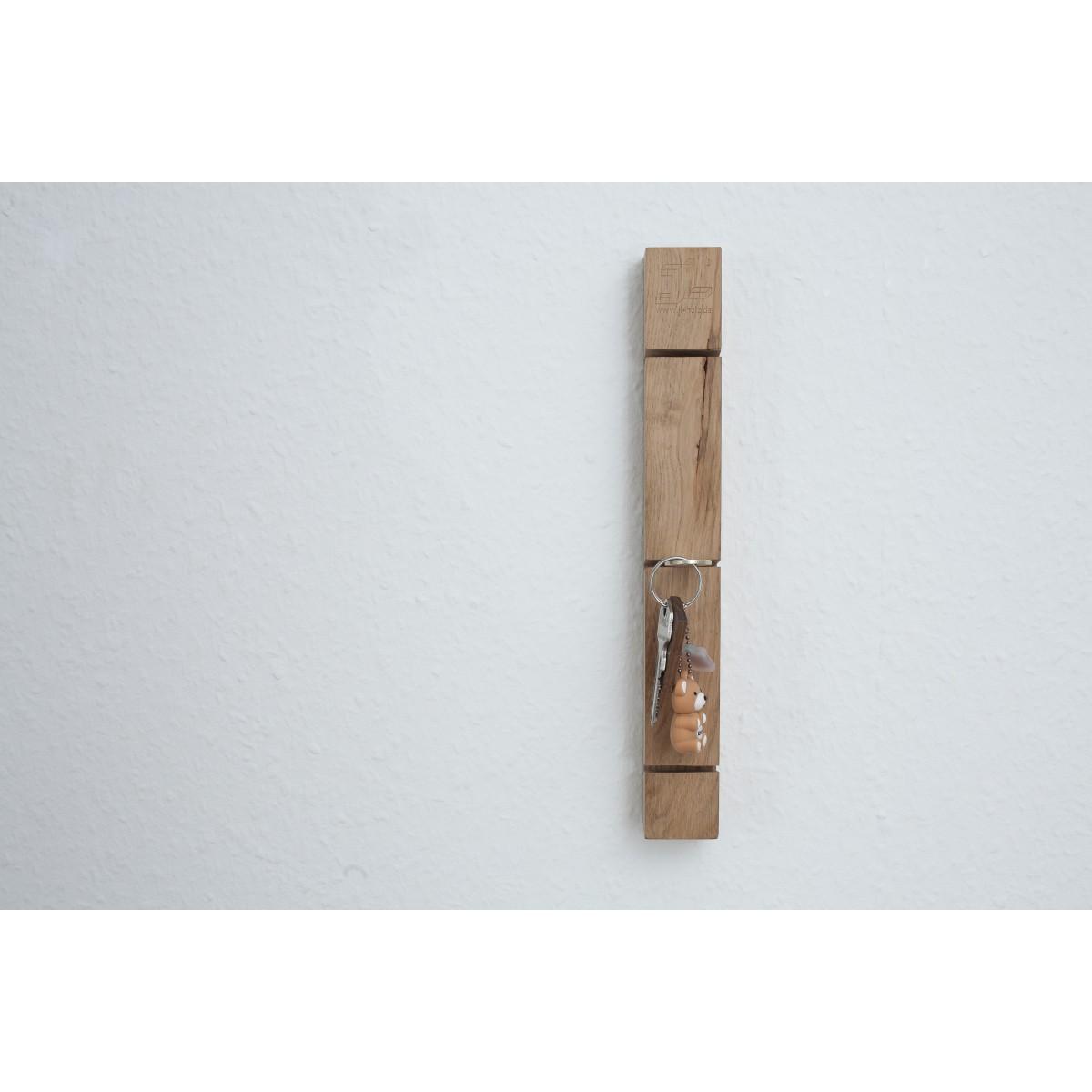 Schlüsselbrett Eiche jl-holz schlüsselbrett (eiche vollmassiv) | selekkt