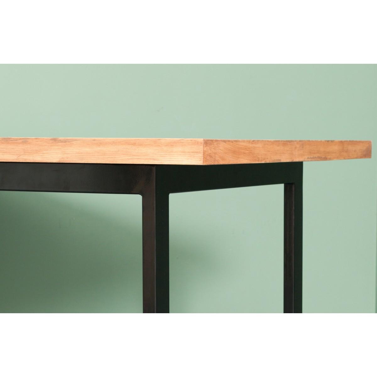 JOHANENLIES | Upcycling Tisch aus recyceltem Massivholz & Eisen | ONDERBANKEN